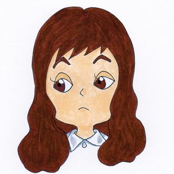 Female illustration 6
