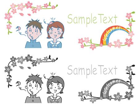 Illustration ceremony illustration