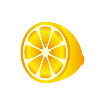 檸檬(一半)