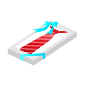 A red tie gift