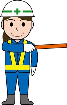 Guidance of female guardman 6