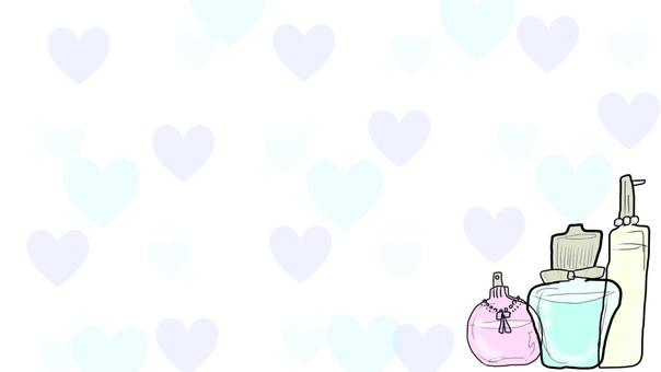 Perfume bottle background