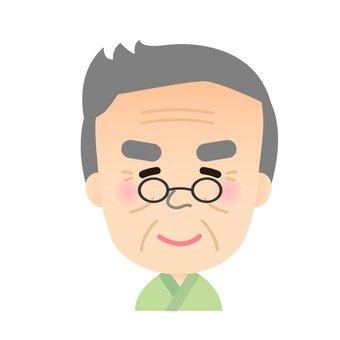 Male face icon