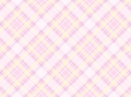 체크 - 엷은 핑크