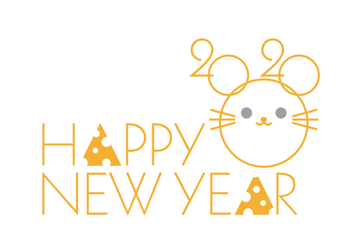 New Year's card 435