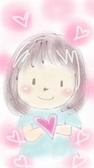 Heart and girl