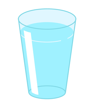 Cup (with water)
