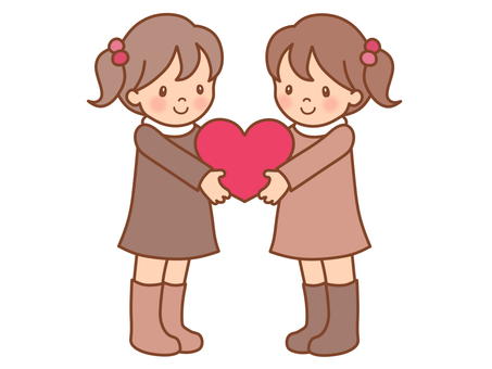 Hearts and girls