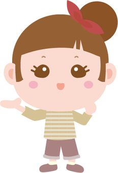 Cheerful girl 45