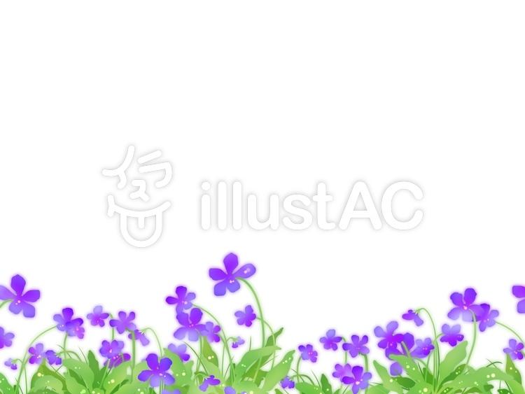 菫の花イラスト No 1031353無料イラストならイラストac