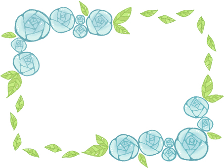 Rose frame 4