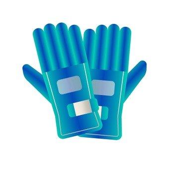 藍色手套(1)