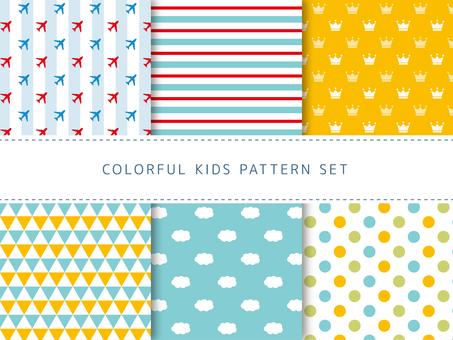 Pattern set for kids