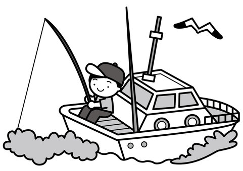 Boat fishing 2c
