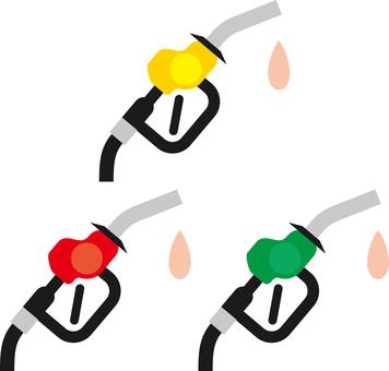 Gasoline nozzle icon