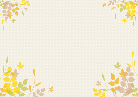 Fall image material 105