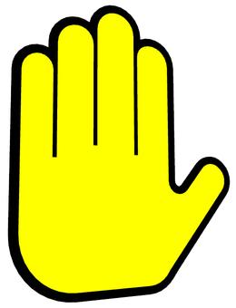 Hand hand icon