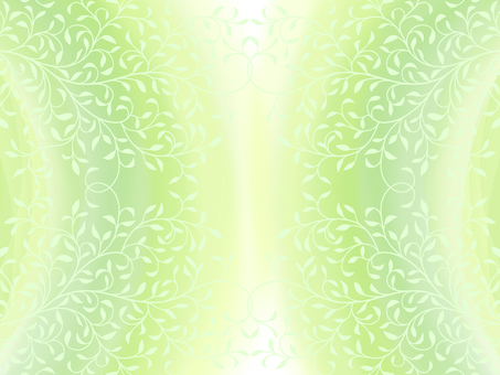 Leaf pattern silhouette and green background