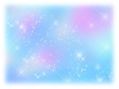 Glittering background blur