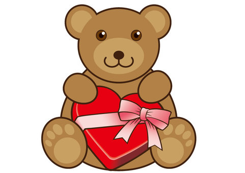 Valentine / Bear & Box