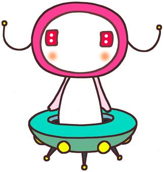 Alien character 4