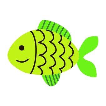 Green fish 12