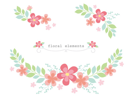 Flower decoration parts _ 01