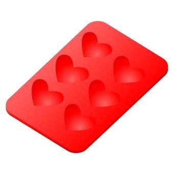 巧克力式(心臟形)