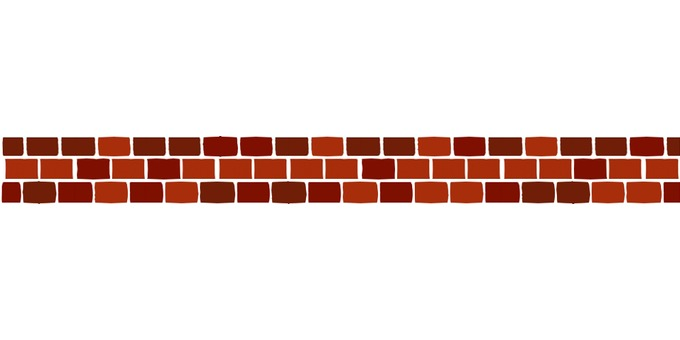 Dividing line (brick / dark color)