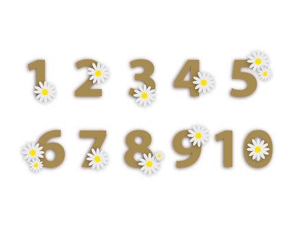 數字hanahana