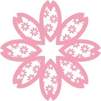 Cherry blossom pattern 04