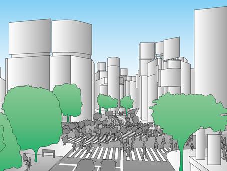 Tokyo Attractions (4) Shibuya Crossing