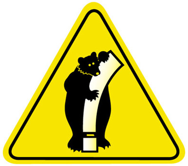 Attention to bear