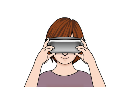 VR goggles (6) girls