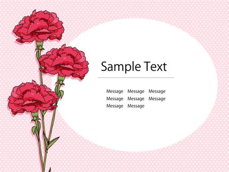 Carnation postcard 01