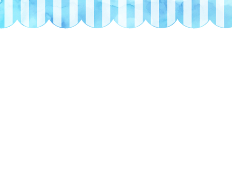 Watercolor stripe frame 1 light blue