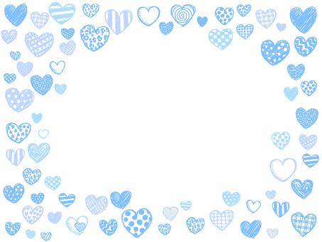 Graffiti-style heart