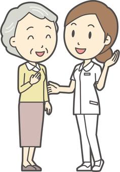 看護師と会話-018-全身
