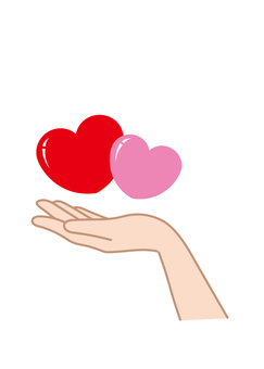 Hand wrapping Heart E