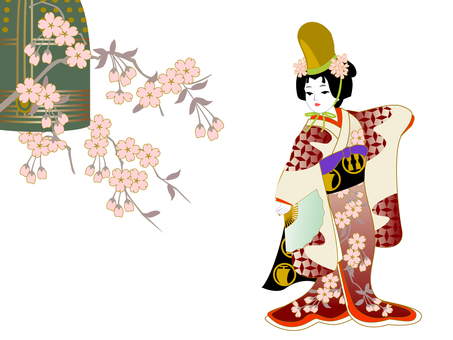 Child Kabuki Daughter Dojoji