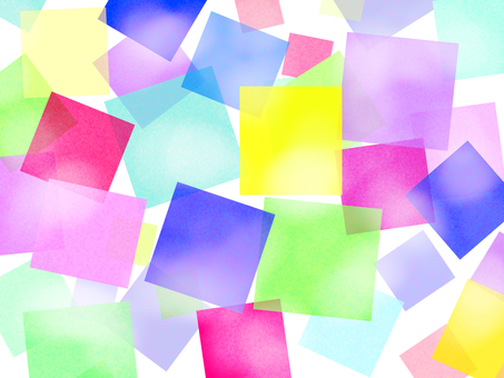 Colorful jelly square (square) wallpaper