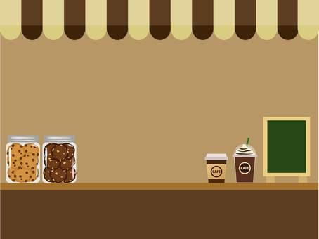 Cafe stand frame