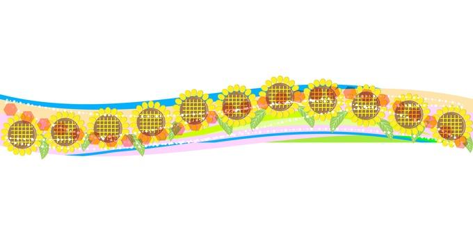 Sunflower decoration 06