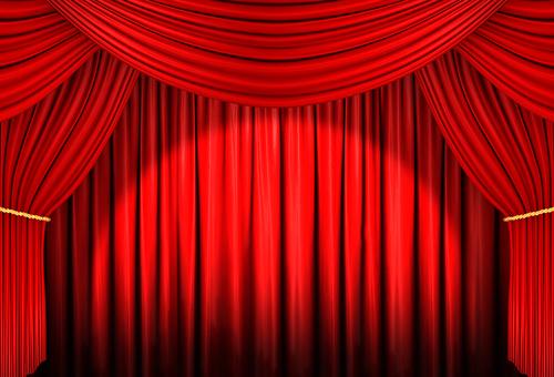Red Curtain 03 Spotlight