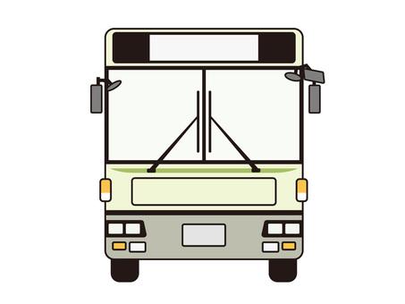 公共汽車·前面(顏色)