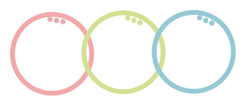 Circular material -212