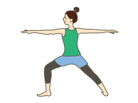 Female to do yoga 7