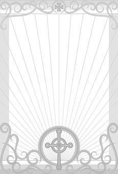 Cross post card
