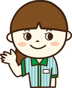 便利店店員(微笑1)