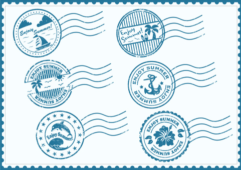 Postmark / Stamp Set Summer Ver.